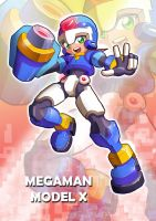 Megaman ZX - Model X by ultimatemaverickx