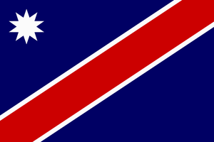 New Nation States Flag (Republic of Martenia) by BullMoose1912