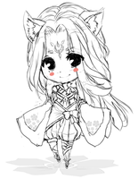 Sketch Chibi: Example by MzzAzn