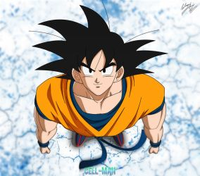 Goku: Ready to Fight! by CELL-MAN