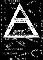 30 Seconds to Mars Puzzle by TOontownSoul
