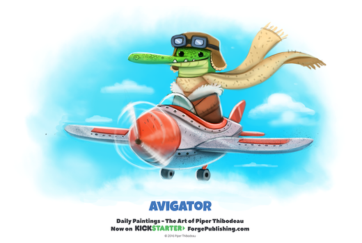 Daily 1317. Avigator by Cryptid-Creations