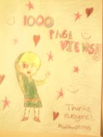 1000 PAGEVIEWS by MissStar091995