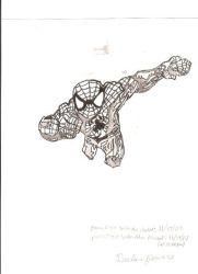Ultimate Spider-Man 1 (inked) by Rapter57