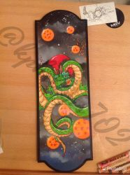 Shenron painting by KPhillips702