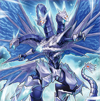 Trishula, the Ice Prison Dragon by Yugi-Master