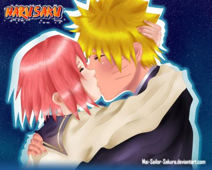NaruSaku-school love by Mai-Sailor-Sakura