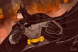 Batman by ColtonBalske