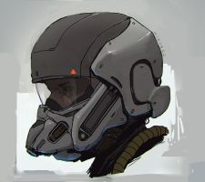 Snout helmet by thomaswievegg