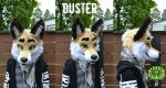 Duster the wolf by RaviTheBlueTiger