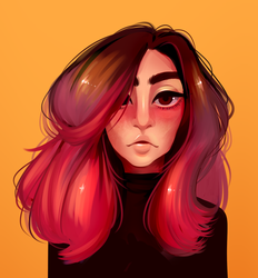 I tried painting style thingy again by Looji
