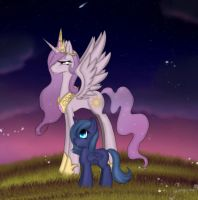 .:Soon you'll reach your destiny little sister:. by Gamermac