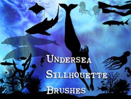 Undersea Sillhouette Brushes by memories-stock