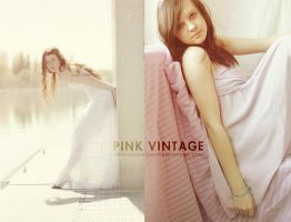Pink Vintage Action by EliseEnchanted