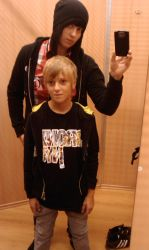 Me with BRO by cettpick