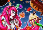 Sweets Witch -MarzipanHexe by HecateInNightmare