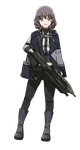 Commission : Girls Frontline MA5C Rifle by ForeverMedhok