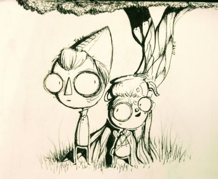 {FanArt} Over The Garden Wall- Wirt n' Gregory by Tacotron2000