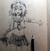 Astolfo (fanart) (warning) by Periphone