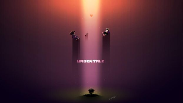 Undertale Wallpaper by CKibe