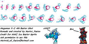 MMX2 Custom Buster MMZ style by HunterFusion