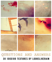 Questions and Answers by lookslikerain