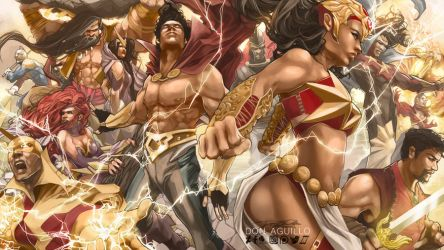 The Pinoy Pantheon of Superheroes by daguillo84