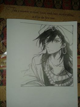 Sinbad of Magi The Labyrinth of Magic by vanillafloat23