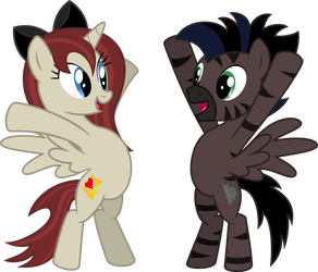 Akira and Stormy - It's Hug Time! by namelesshero2222