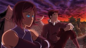 Makorra-Maybe in Another Life by Raeistic