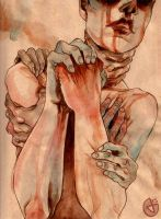 Self Infliction by JenrenG