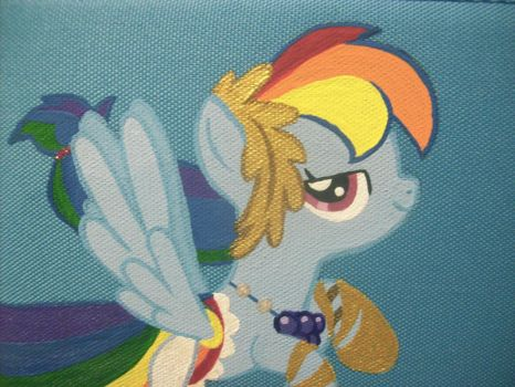 Rainbow Dash 3DS Case B by psaply