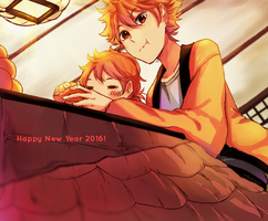 Happy New Year! by mikanchii