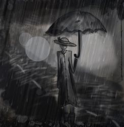 Here Comes The Downpour by LivsNotes