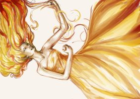 Tangerine by quoth-le-corbeau