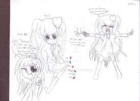 My CH OC--Gloria Vanders (Chibi Hero Fare) by MSTieMiss