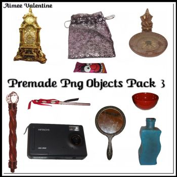 Premade Png Objects Pack 3 by Lady-Valentine-Art83