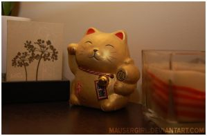Lucky Cat by MauserGirl