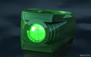 Green Lantern Power Ring by JeremyMallin
