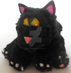 Meowclops Art Doll