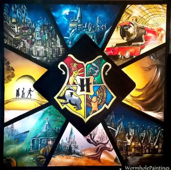 Harry Potter mix :3 by WormholePaintings