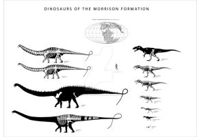 Some Morrison Dinosaurs by Franz-Josef73