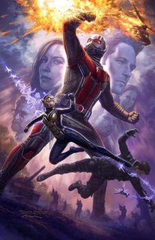 New SDCC Ant-Man and the Wasp Poster by Artlover67