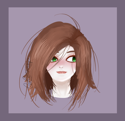 #51// Bad hair day by colorvamp
