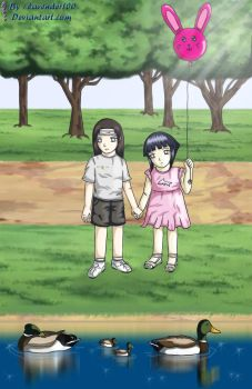 at the park'me and my nii-san' by lavender100