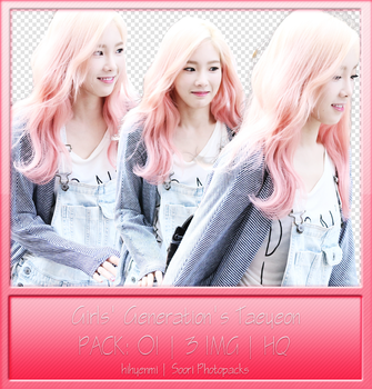 [PNGPACK] GIRLS' GENERATION'S TAEYEON by hihyenmi2