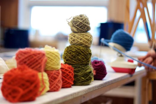 Yarn in different colors by messo85