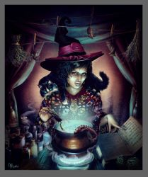 Youth potion by Katie-Watersell
