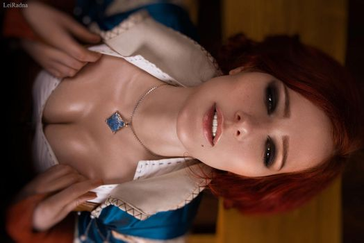 Triss Merigold Witcher Cosplay by shproton