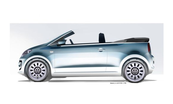 Volkswagen Up! cabriolet opened by JB-95